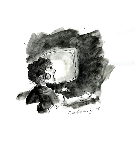Computer Person #4 Print