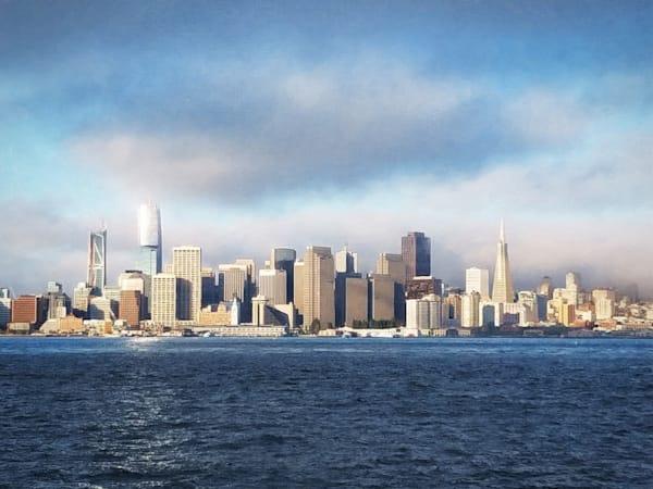 San Francisco In The Morning Light Photography Art | David Louis Klein