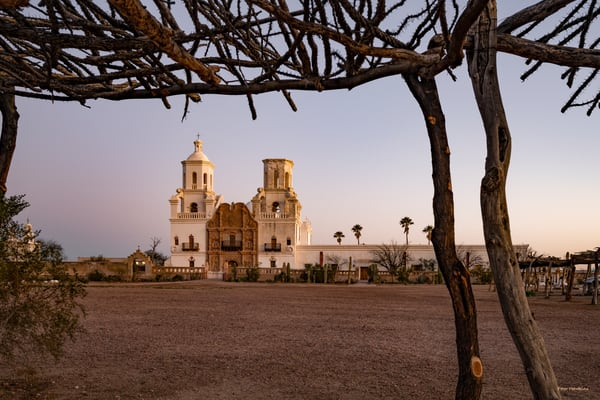DP638 San Xavier del Bac Sunrise 2