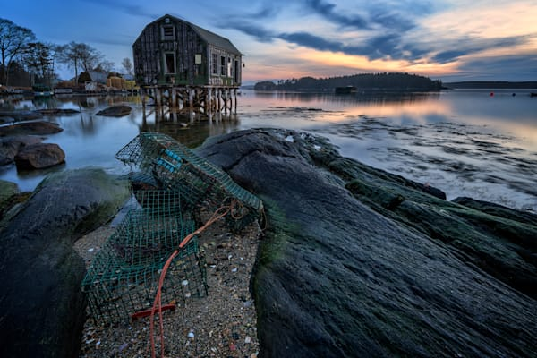 Blue Hour in Cundy's Harbor | Shop Photography by Rick Berk