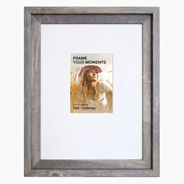 Collage Frame | 5x7 Barnwood Single