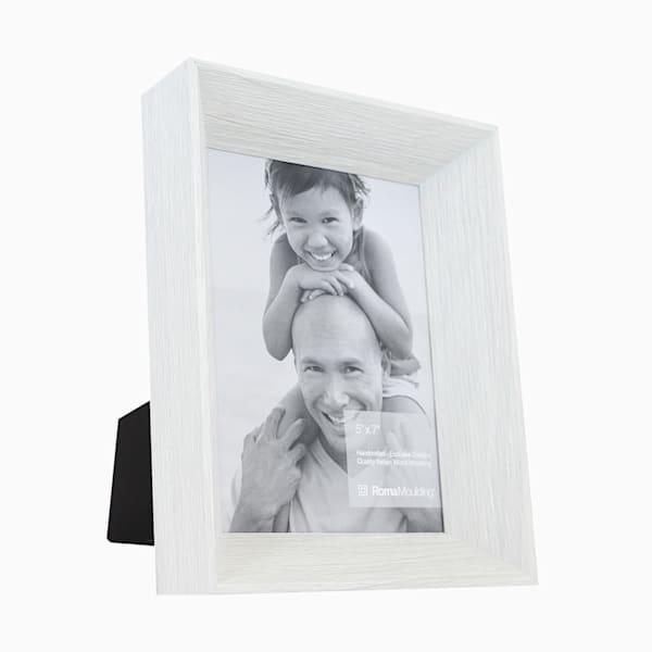 Roma Photo Frame | 5x7 White Arber II