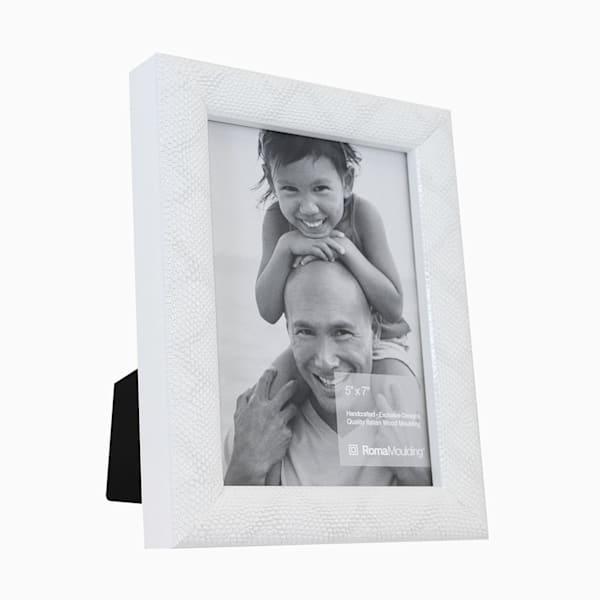 Roma Photo Frame | 5x7 White Vintage II