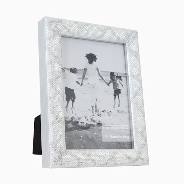 Roma Photo Frame | 5x7 Silver Vintage II