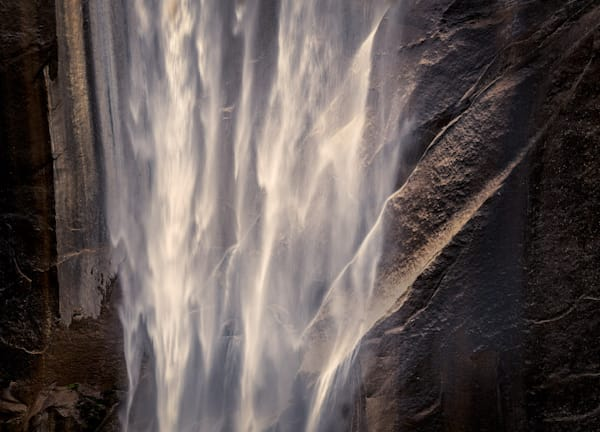 Gracefulness of Light | Vernal Fall abstract photo by Charlotte Gibb