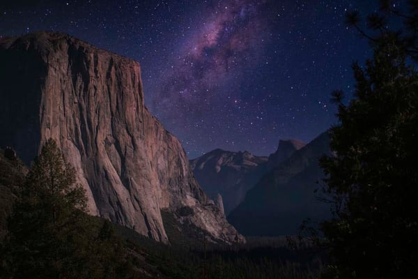 Starry Night At Tunnel View Photography Art | Studio 221 Photography