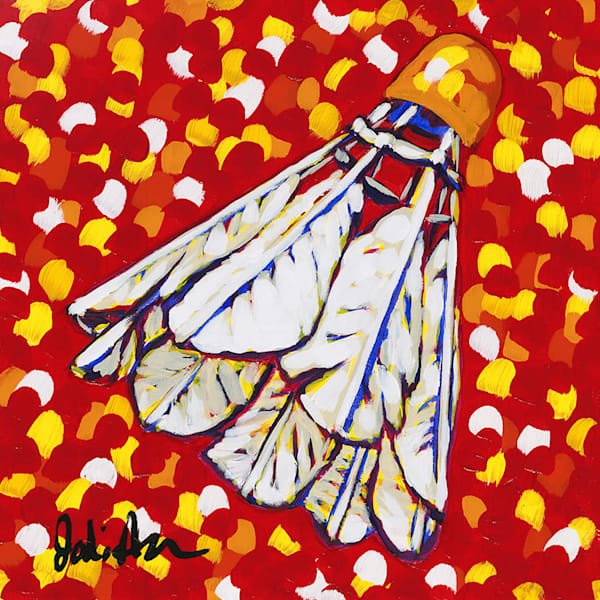 Shuttlecock Chiefs is an original painting by Jodi Augustine.