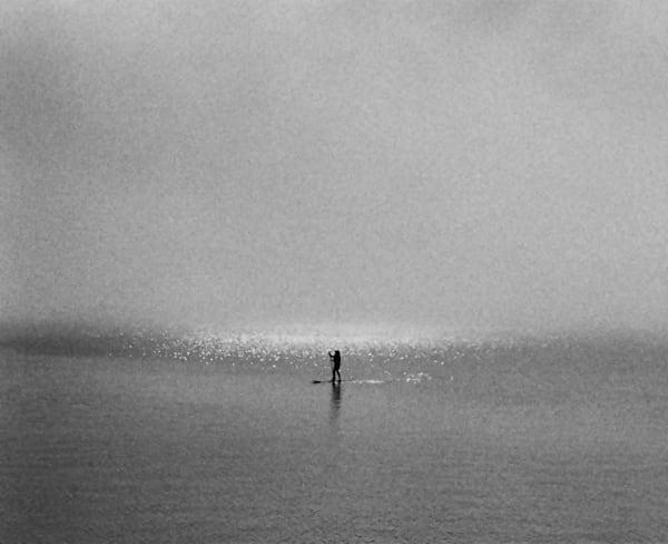 Man On A Paddleboard Photography Art   David Louis Klein