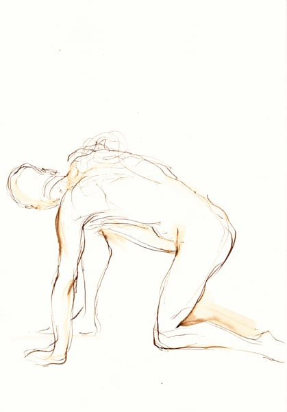 Mind-Body-Spirit Art | Figure Paintings and Drawings by Michelle Arnold Paine