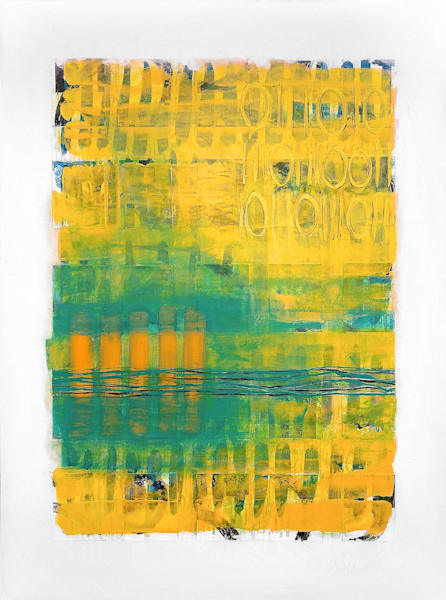 Blended Recall - Abstract Painting | Cynthia Coldren Fine Art