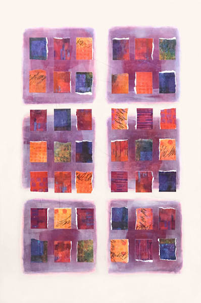 Episodes of Affection - Abstract Painting | Cynthia Coldren Fine Art
