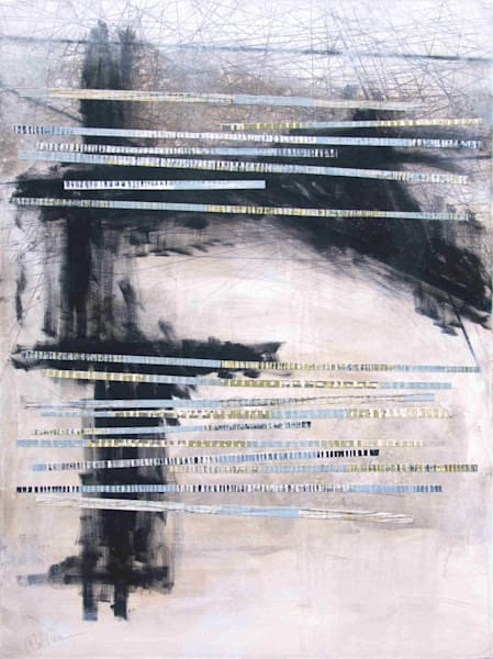 Linescapes 1- Abstract Painting | Cynthia Coldren Fine Art