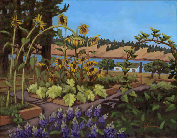 Kim Bruder - Garden at the Cove