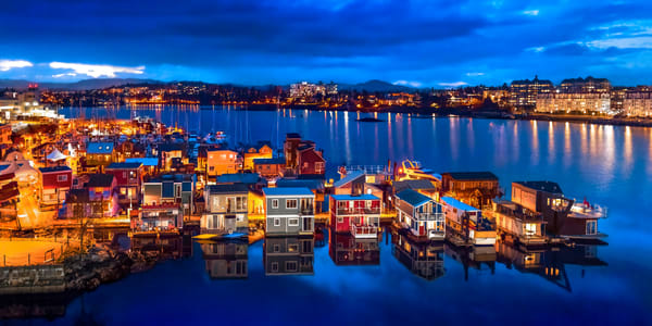 Victoria Harbour Art | James Alfred Friesen
