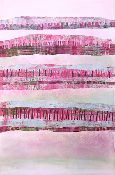 Trees on a Thousand Hills - Abstract Painting | Cynthia Coldren Fine Art