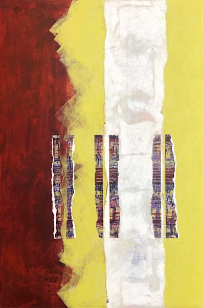 Double Musings - Abstract Painting | Cynthia Coldren Fine Art