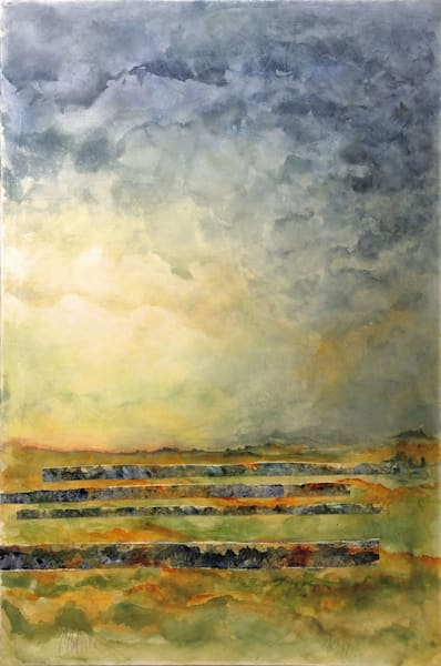 Storm Over Caprock - Abstract Painting | Cynthia Coldren Fine Art