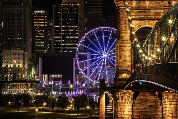 Cincinnati Sky Wheel Photography Art | Studio 221 Photography