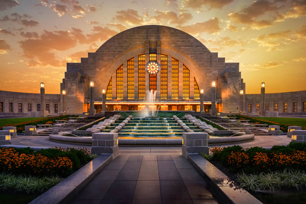 Union Terminal Sunset Photography Art | Studio 221 Photography