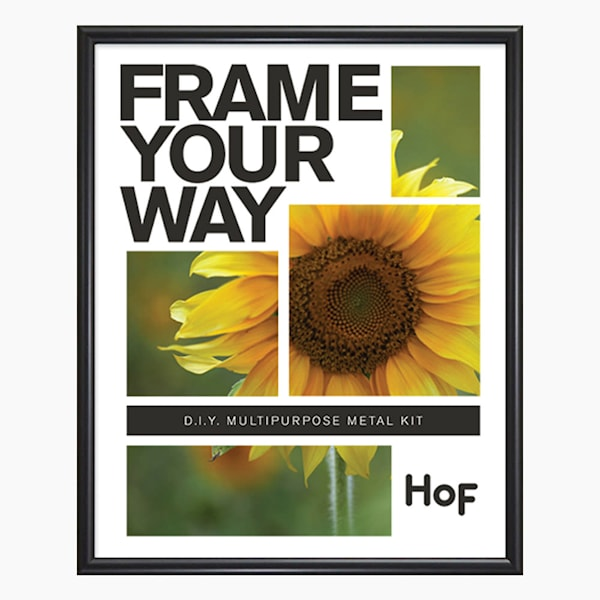 Metal Frame | 8.5x11 Frosted Black