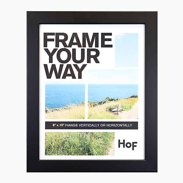 8x10 Black Wall Frame | Hall of Frames