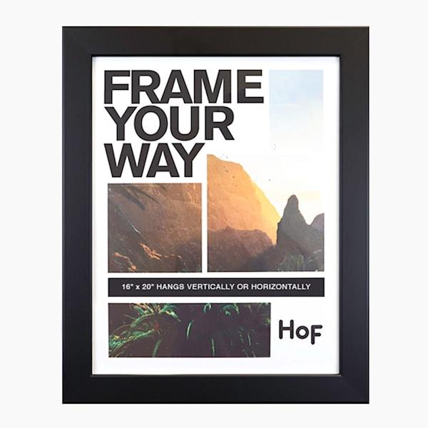 16x20 Black Wall Frame | Hall of Frames