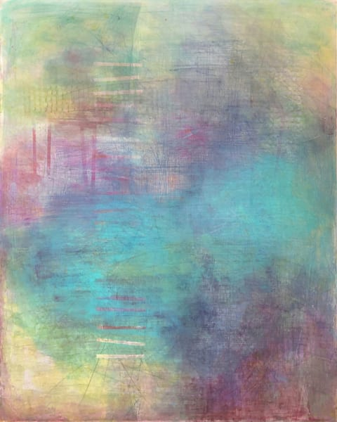 Water Optics - Abstract Painting | Cynthia Coldren Fine Art