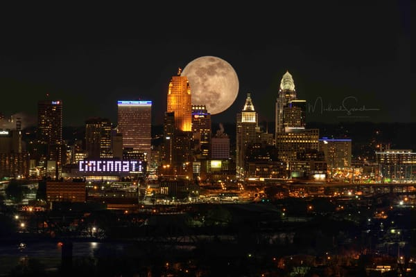 Cincinnati Wolf Moon Photography Art | Studio 221 Photography