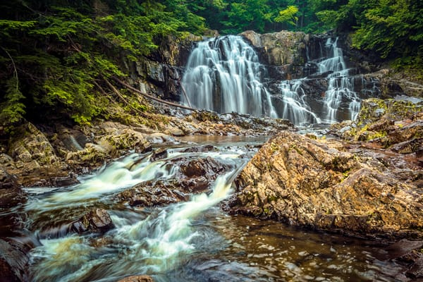 Houston Brook Falls Photography Art | Monteux Gallery