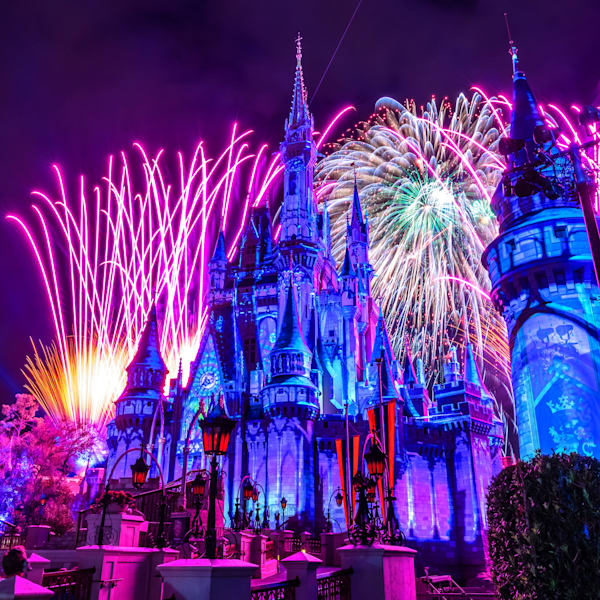 Happily Ever After 57 - Magic Kingdom Art   William Drew Photography