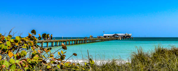 Anna Maria Pier 2 Photography Art | jimhooverphoto
