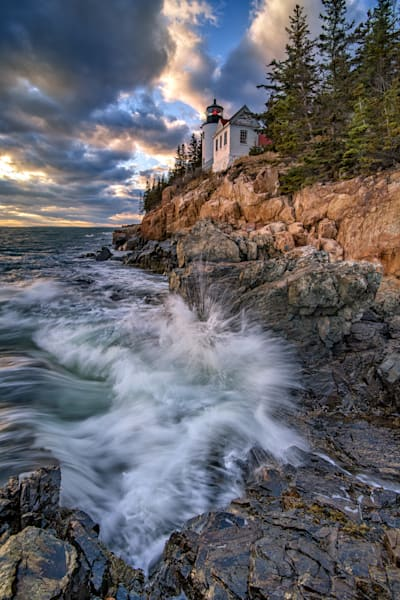 Rising Tide at Bass Harbor Head | Shop Photography by Rick Berk