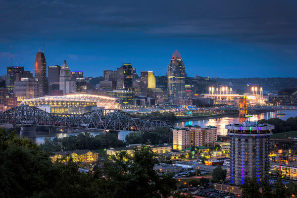 Cincinnati Stadiums Photography Art | Studio 221 Photography
