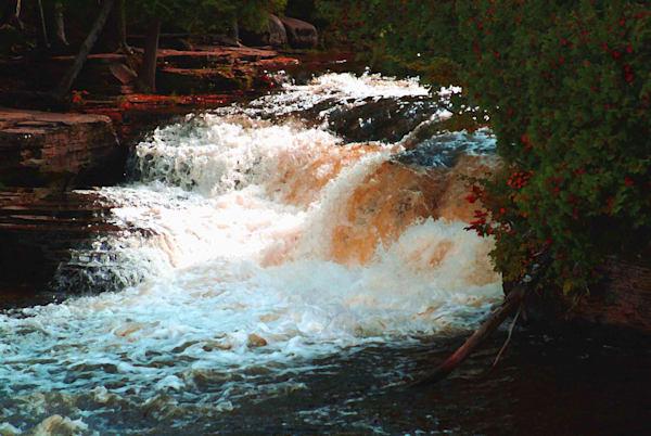 Munising Falls 2 Art | DocSaundersPhotography