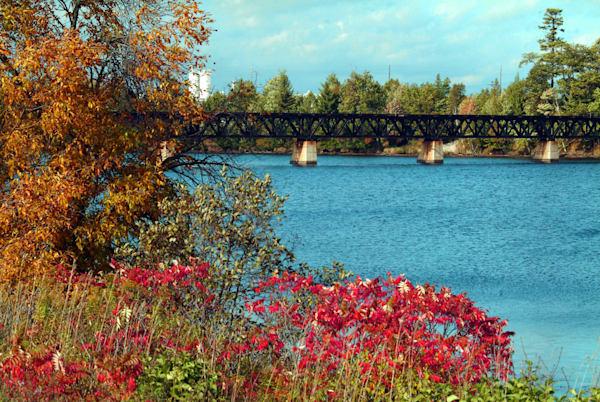 Escanaba Railroad Bridge 2 Art | DocSaundersPhotography
