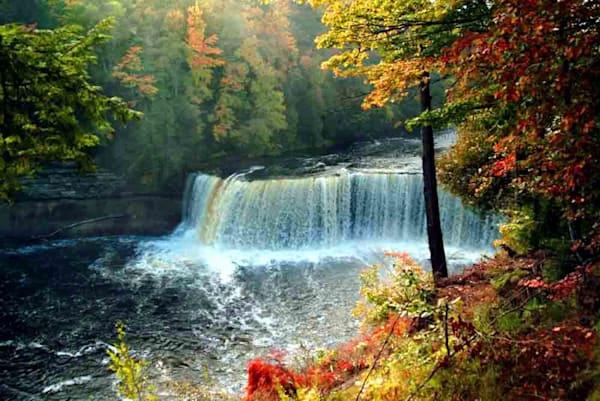 Tahquamenon Upper Falls Art | DocSaundersPhotography