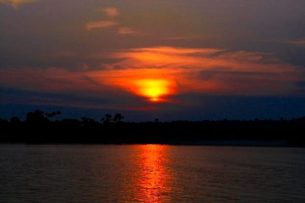 Amazon Sunset  Art | DocSaundersPhotography