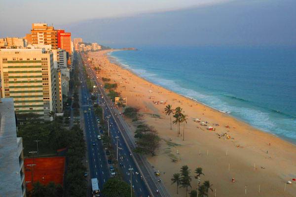 Ipanema Beach Rio De Janiero Art | DocSaundersPhotography