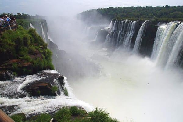 Iguazu Falls Devils Throat Art | DocSaundersPhotography