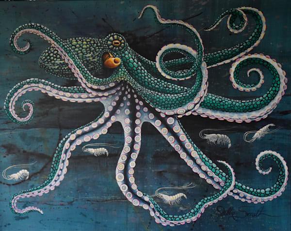 Shrimp Coctail Art | Shore Paintings