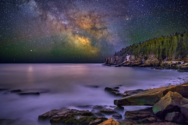 Milky Way Over Otter Cliff | Shop Photography by Rick Berk