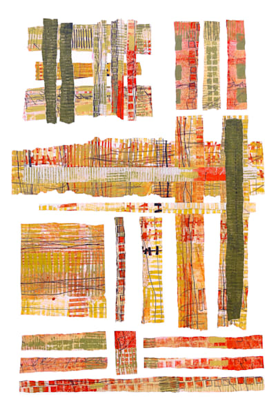 Summers in the City – Original Abstract Painting & Prints | Cynthia Coldren Fine Art