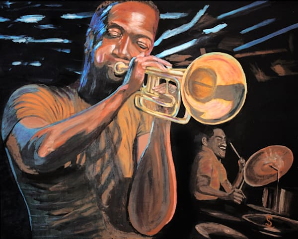 Evening At The Half Note Art | RPAC Gallery