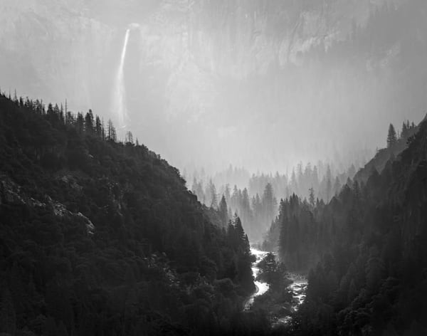 The Valley Awaits - Yosemite National Park, by Charlotte Gibb