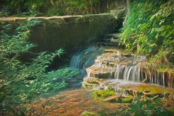 J Stoner   Withrow Springs In Arkansas Art | Branson West Art Gallery - Mary Phillip