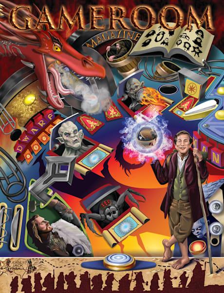 Gameroom-Pinball-Hobbit-Art