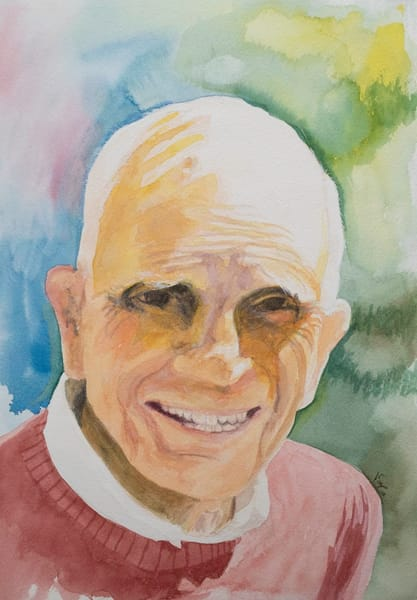 George Senior Watercolor