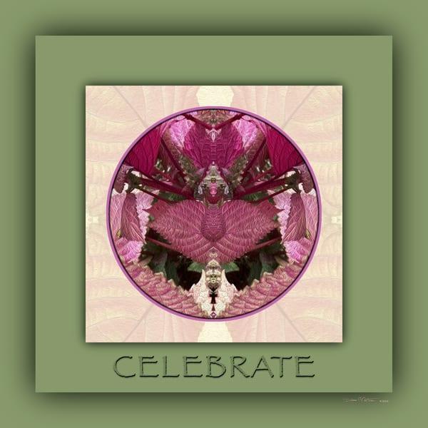 Red Shiso Number 9 CELEBRATE - Debra Cortese Designs