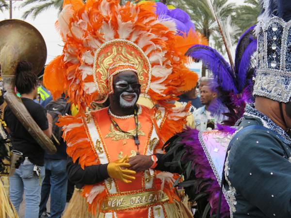 Zulu Warrior   Mardi Gras Art | DocSaundersPhotography