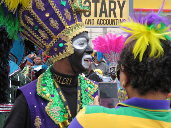 Zulu Warrior 3 Mardi Gras Art | DocSaundersPhotography